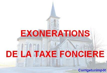 Quel âge pour Exonération taxe foncière ?