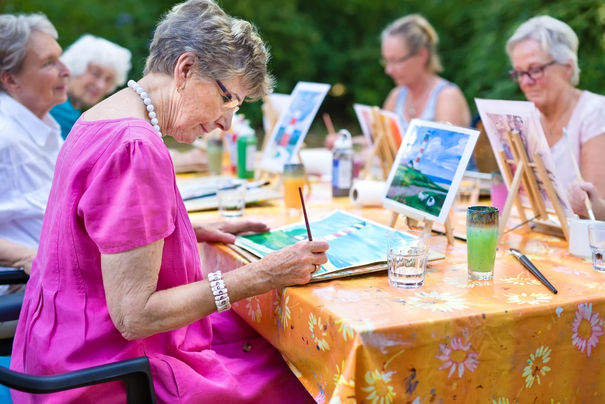 activité à faire à la retraite